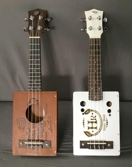A Tale of Two Ukes - Cigar Box Nation