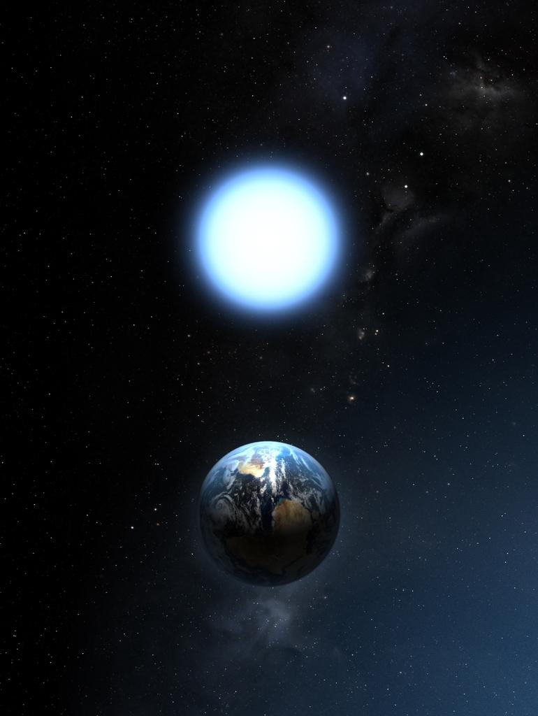 звезда сириус фото с земли обогащение воды кислородом